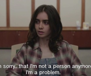 lily, quote, and lily collins image