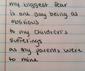 quotes, parents, and fear image