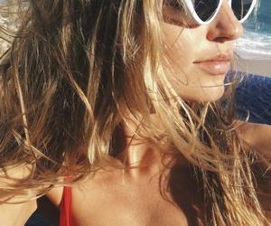 bikini, sunglasses, and woman image