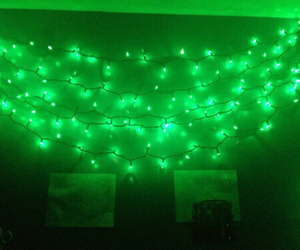 green, light, and aesthetic image