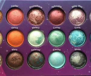 make up, palette, and universe image