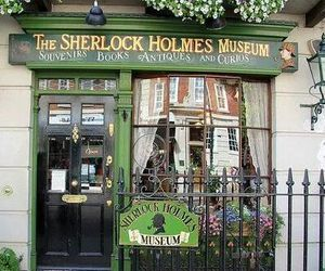 museum, london, and sherlock image