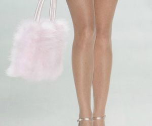 fashion, fur, and pink image