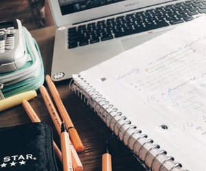 college, inspiration, and study image
