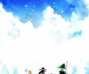 anime, boy, and magi image