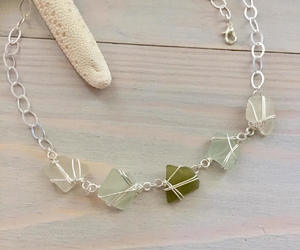 etsy, green wedding, and sea glass jewelry image