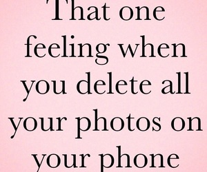 delete, feelings, and funny image