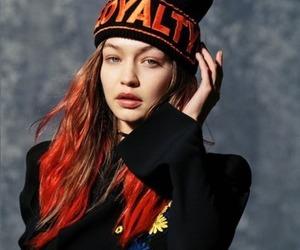 gigi hadid, model, and Versace image