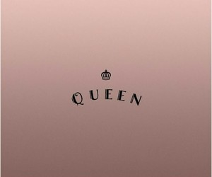 Queen, wallpaper, and rose gold image