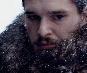 jon snow, kit harington, and king of the north image