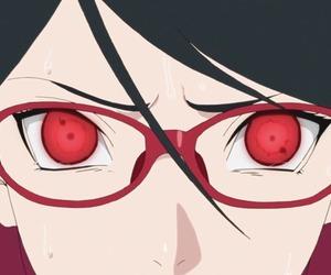 boruto, sarada uchiha, and anime image