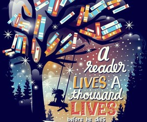 book, quotes, and reader image