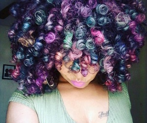 beauty, natural, and curls image