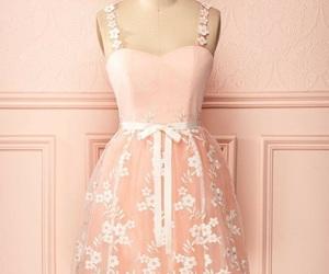 vestido rosa, vestido corto, and vestido rosa palo image