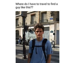 boys, travel, and man candy image