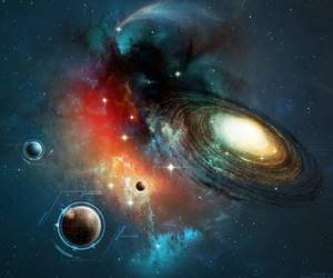 space and galaxy image