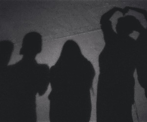night, silhouette, and squad image