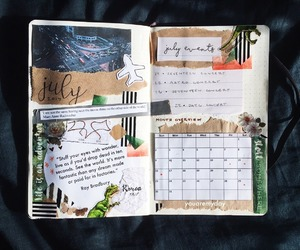 college, school, and bujo image