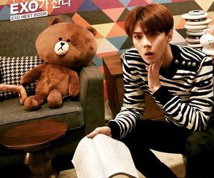 sehun, exo, and exo next door image