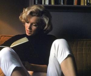 Marilyn Monroe, book, and marilyn image