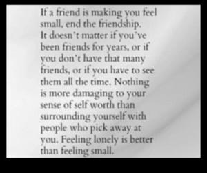 alone, drama, and friend image