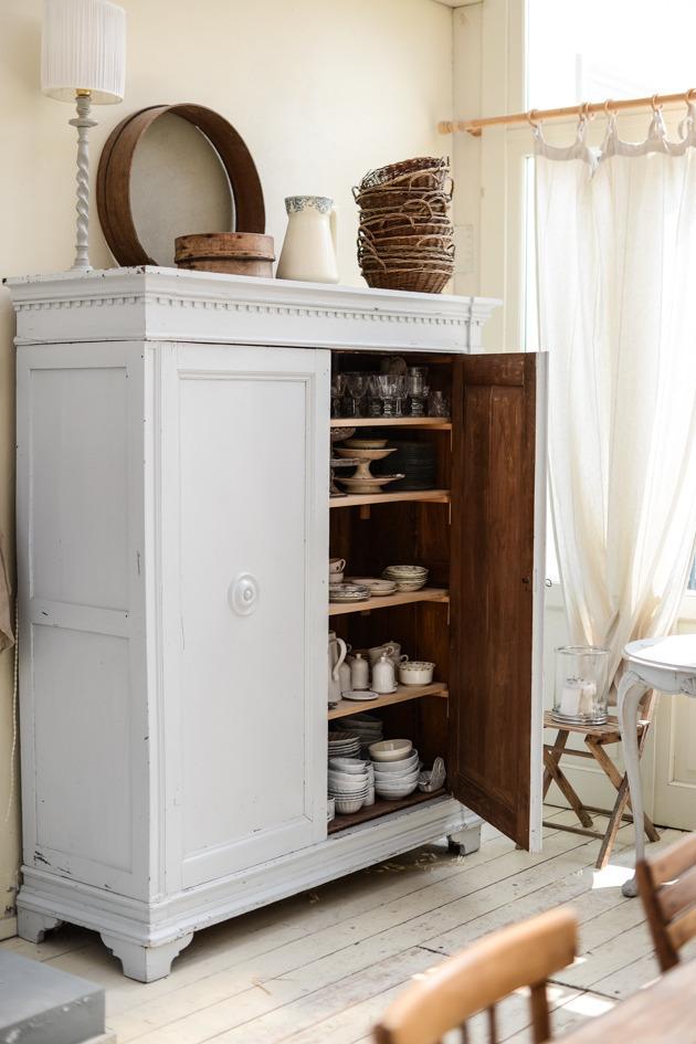 cabinets, farmhouse, and home decor image