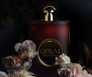 beauty, black, and fragrance image
