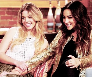 pretty little liars, shay mitchell, and pll image