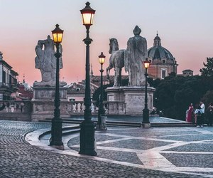 italy, city, and rome image