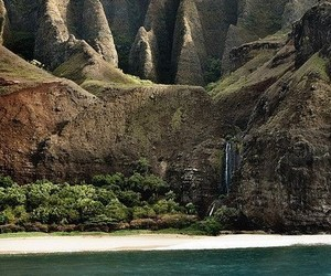 nature, landscape, and hawaii image