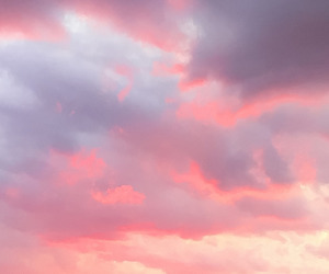 clouds, nature, and pastel image