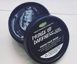 cosmetics, face mask, and lush image