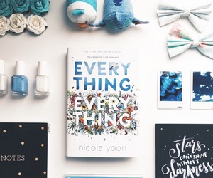 maddy whittier, olly bright, and everything everything image