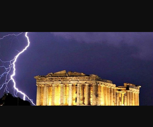 Athens, Greece, and parthenon image