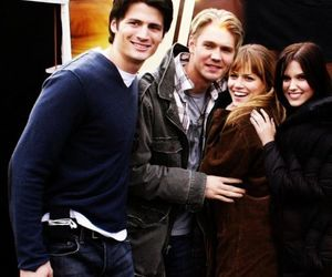brooke, nathan, and haley image