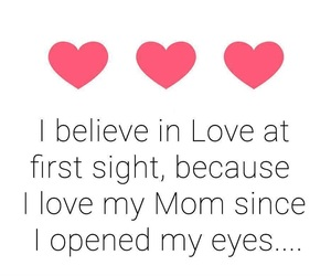 love, mom, and firstsight image