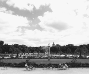 black and white, paris, and photograph image