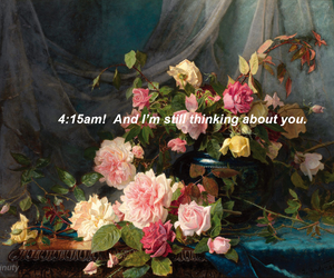flowers, indie, and quotes image