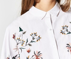 collar, embroidery, and fashion image
