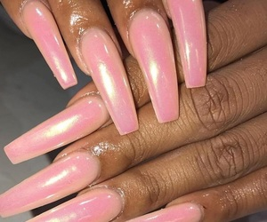 beautiful, cotton, and gel nails image