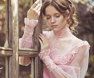 feminine and romantic image