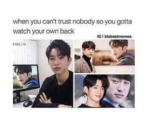 meme, got7, and jinyoung image