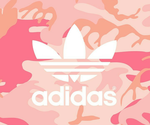 adidas, pink, and camouflage image