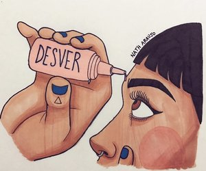 desver, art, and comic image