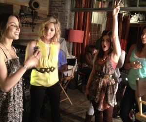 lucy hale, spencer hastings, and pretty little liars image