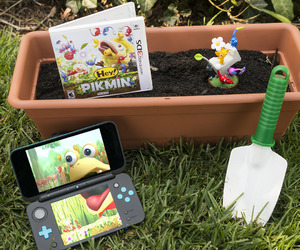 nintendo, pikmin, and 3ds image