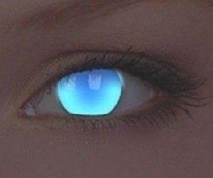 art, eyes, and light image