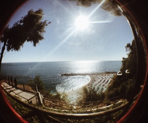 fisheye, italy, and summer image