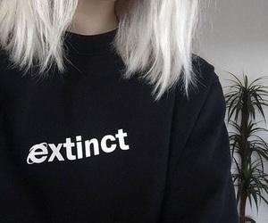 black, grunge, and aesthetic image
