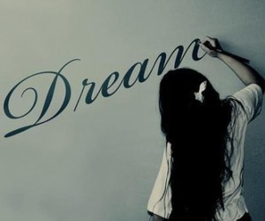 Dream, girl, and painting image